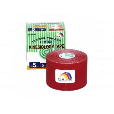 Tejpovacia páska TEMTEX KINESIO 5 cm x 5 m –červená