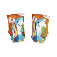 Nafukovacie rukávniky Bestway32102 –žraloky