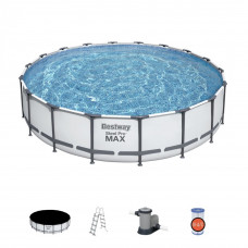 Bazén 549x122 cmSteel Pro Max Bestway-56462