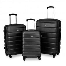 Sada kufrov 3v1 DAVID JONES 1030 - čierna