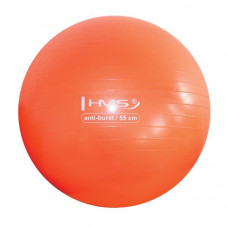 Gymnastická lopta HMS YB02 55 cm - oranžová
