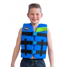 Detská záchranná vesta JOBE NYLON - modrá