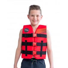 Detská záchranná vesta JOBE NYLON - červená