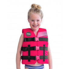 Detská záchranná vesta JOBE NYLON - ružová