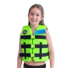 Detská záchranná vesta JOBE NYLON - zelená