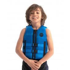 Detská neoprénová záchranná vesta JOBE - modrá