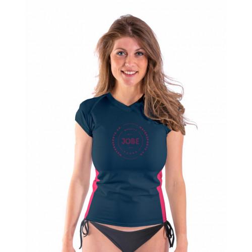 Dámske tričko do vody JOBE SHORTSLEEVE WOMEN V-NECK BLUE