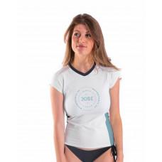 Dámske tričko do vody JOBE WOMEN V-NECK WHITE