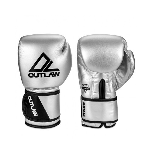 Boxerské rukavice Outlaw Prime200102 –strieborné