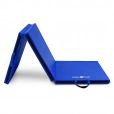 Trojsekciová žinenka MARBO 180 x 60 x 5 cm –modrá
