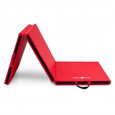 Trojsekciová žinenka MARBO 180 x 60 x 5 cm –červená