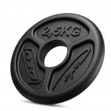 Olympijské železné závažie 1,25 kg SLIM MW-O1,25 -OLI - Marbo Sport