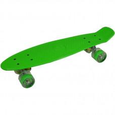 """Pennyboard 22 """"Led Enero 1009490 –zelený"""