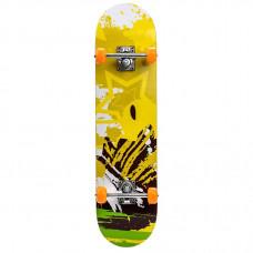 Skateboard MeteorYellow 22622 –žltý