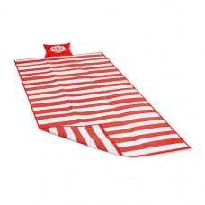 Plážová deka179 x 89 cmNILS CAMP NC 1300 - červená