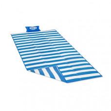 Plážová deka179 x 89 cmNILS CAMP NC 1300 - modrá