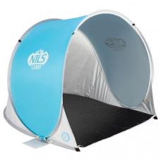 Samorozkladací plážový stan NILS Camp NC3173 šedo-modrý