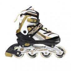 Kolieskové korčule Nils Extreme NA1123 –zlaté