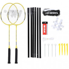 Badmintonová sadaWISH Alumtec 4466 - žltá