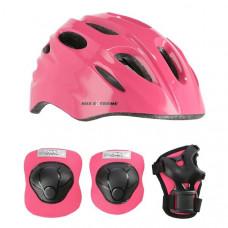 Prilba a chráničeNILS Extreme MTW01 + H210 - ružová