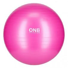 Gymnastická lopta 55 cm ONE FITNESS – ružová