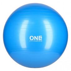 Gymnastická lopta 65 cm ONE FITNESS – modrá