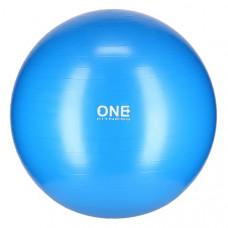 Gymnastická lopta 75 cm ONE FITNESS – modrá