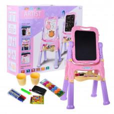 Detská tabuľa RAMIZZKP.676 –ružová