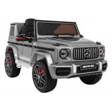 Elektrické autíčko MERCEDESG63 AMG - strieborné