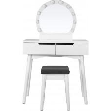 Svietiaci toaletný stolík Songmics - RDT11WL