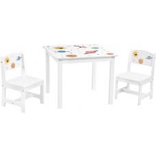 Detská stolová súprava SONGMICS GKR010W01