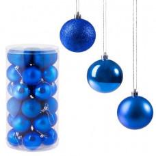 Vianočné gule na stromček 24 ks SPRINGOS CA0086