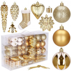 Vianočné ozdoby na stromček 72 ks SPRINGOS CA0161