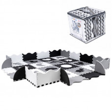 Penová podložka puzzle pre deti Sapphire Kids SK-33 - mono