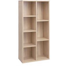 Drevená knižnica VASAGLELBC27NL