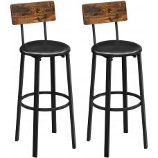 Barové stoličky 2 ks VASAGLELBC069B81