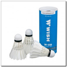 Badmintonové košíky z peria 3 ksWISH W-08