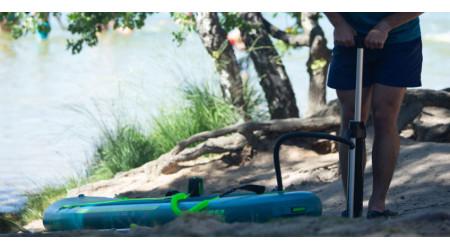 Ako nafúknuť paddleboard