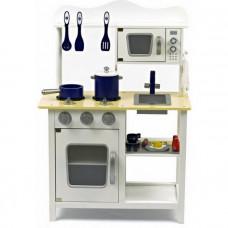 Detská drevená kuchynka Classic white -W10C045