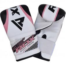 Boxerské rukavice RDX MITTS GEL - ružové