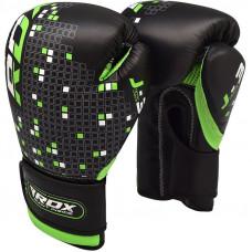 Boxerské rukavice pre deti RDX J-3B - zelené