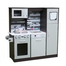Detská drevená kuchynka PARIS GREY- W10C237
