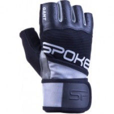 Fitness rukavice Spokey GANT II - šedé