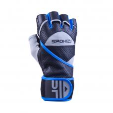 Fitness rukavice Spokey GANTLET II - modré