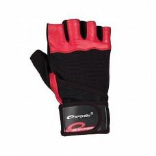 Fitness rukavice Spokey GANT - červené