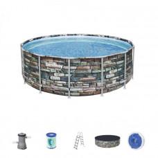 Bazén Power Steel Bestway 427x122 cm - 56993