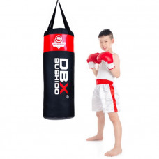 Boxovacie vrece BUSHIDO 80cm/30cm 15-20kg pre deti, červené