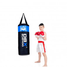 Boxovacie vrece BUSHIDO 80cm/30cm 15-20kg pre deti, modré