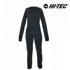Dámska termobielizeň Hi-Tec Tibis čierno/fialová