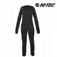 Dámska termobielizeň Hi-Tec Tibis - čierno/sivá